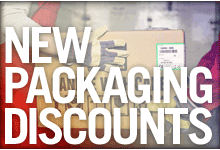 New Packaging Discounts